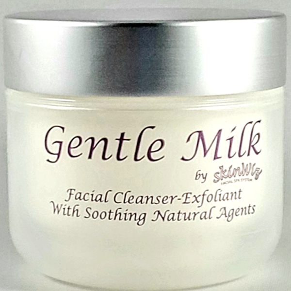 Gentle Milk – Facial Cleanser-Exfoliate With Soothing Natural Agents